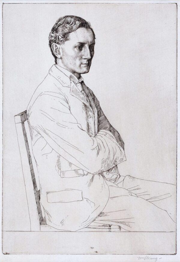 STRANG William R.A I.S. (1859-1921) - Sir Henry Newbolt (1862-1938) (LB.