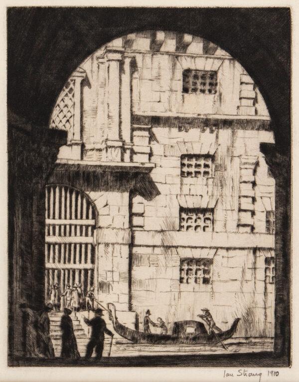 STRANG Ian R.E. (1886-1952) - Venetian Arch.