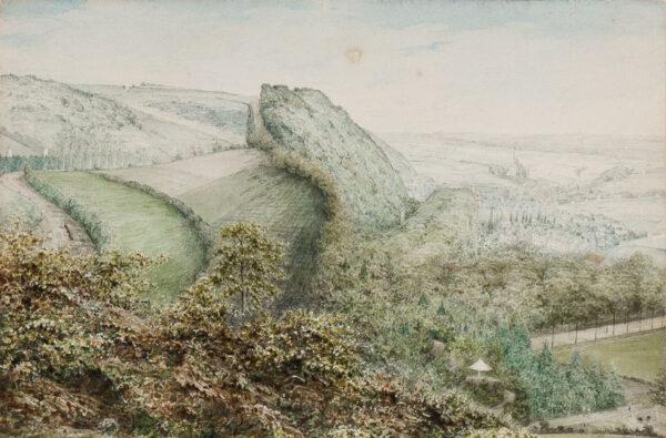 STREATFIELD Robert (1786-1852) - Belgium, 'Above Spa'.