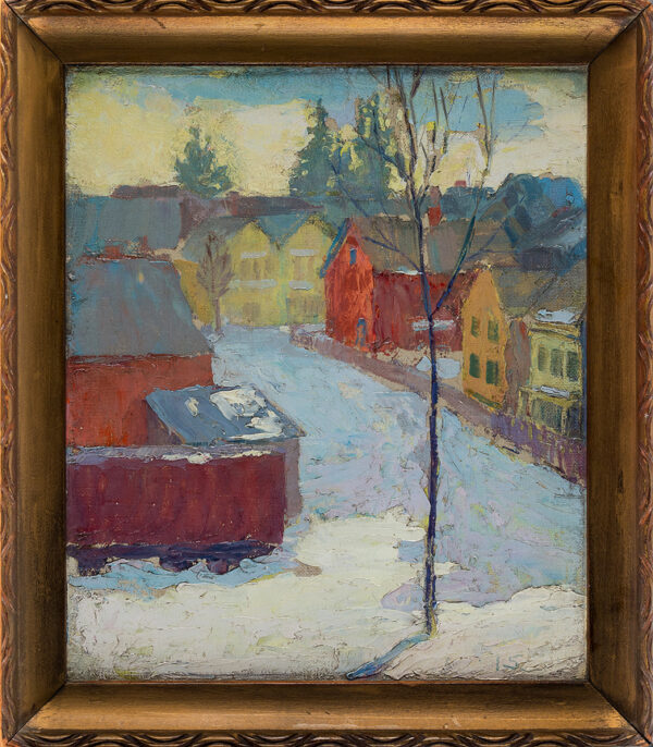STROUD Ida Wells (USA 1869-1944) - 'Up the road', Eaton Place, East Orange, New Jersey, U.