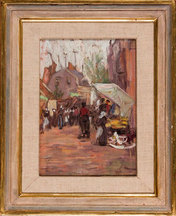 STUDD Arthur (1863-1919) - A Breton Market.