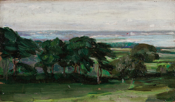 STUDD Arthur (1863-1919) - Coastal landscape.