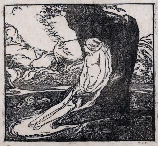 STURGE MOORE Thomas (1870-1944) - 'Pan and Psyche'.