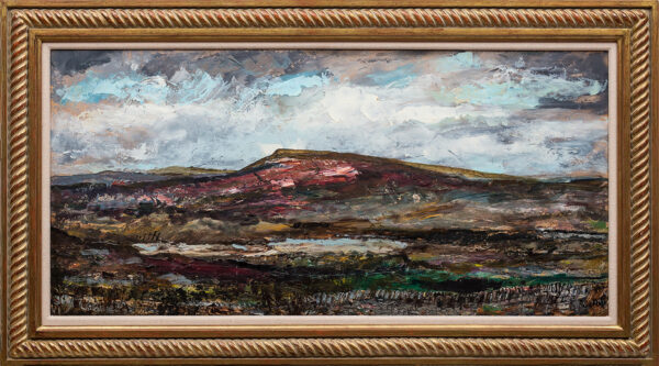 SUDDABY Roland (1912-1972) - 'Yorkshire Moors' Oil on board.