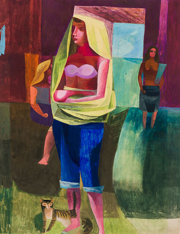 SUDDABY William D. (Exhibited 1932) - Figure composition.