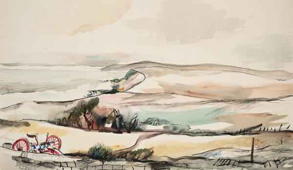 SUDDABY Roland Vivian R.A. (1895-1982) - The Yorkshire coast.