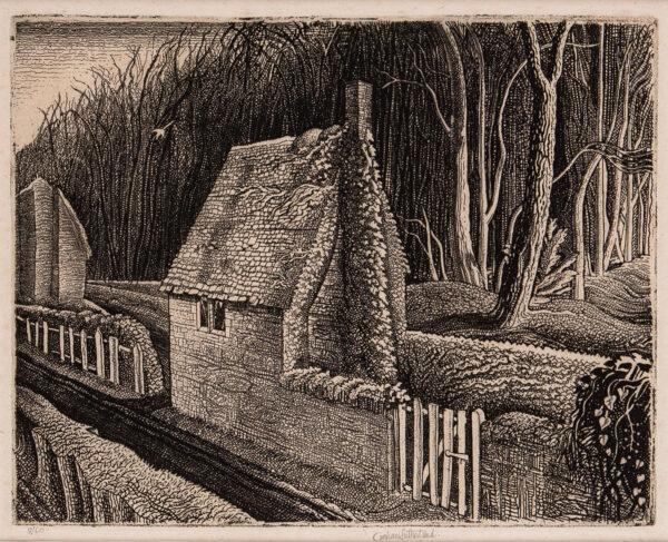 SUTHERLAND Graham O.M. (1903-1980) - 'Cottage in Dorset: Wood End'.