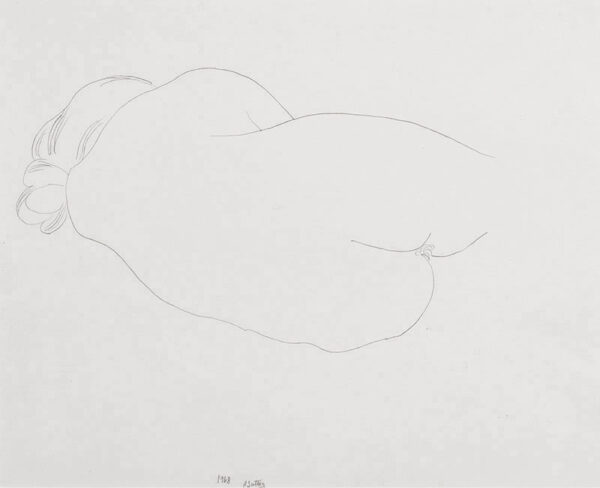 SUTTON Philip RA (b.1928) - Figure study.