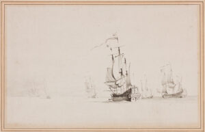 SWAINE Francis (1725-1782) (Circle of) - Men of War.
