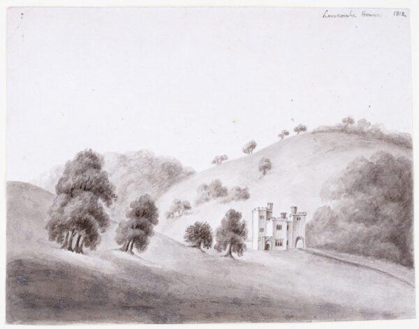 SWETE (a.k.a Tripe) Rev. John (1752-1821) - 'Luscombe House'.