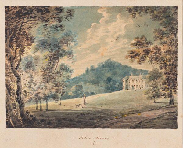 SWETE Rev John (originally John Tripe) (1752-1821) - 'Oxton House', Devon.