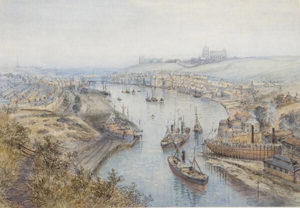 SYER John (1815-1885) - 'Whitby', Yorkshire.