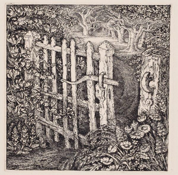TANNER Robin A.R.E. (1904-1988) - 'The Wicket Gate'.