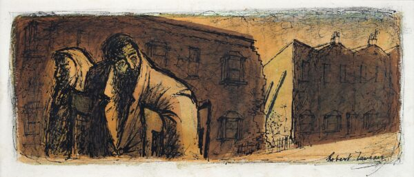TAVENER Robert (1920-2004) - Bombed out.