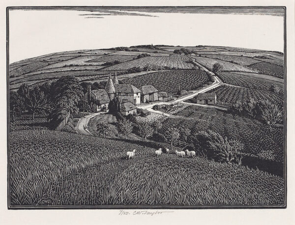 TAYLOR Charles William (1878-1960) - 'Seven miles from Rye'.