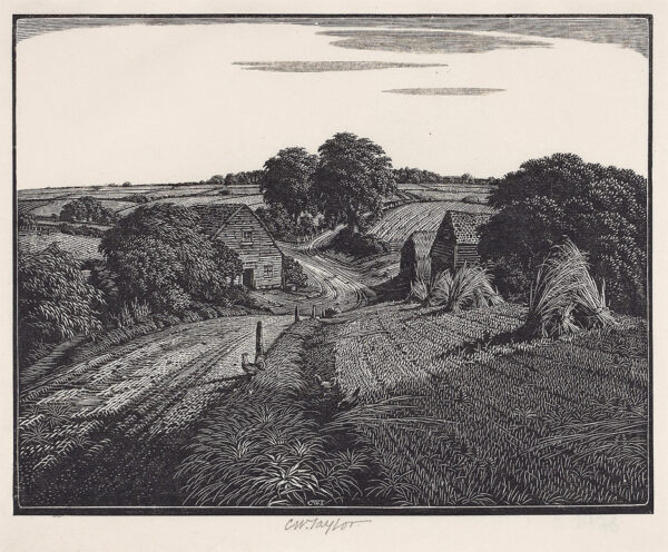 TAYLOR Charles William (1878-1960) - 'Near Lamberhurst'.