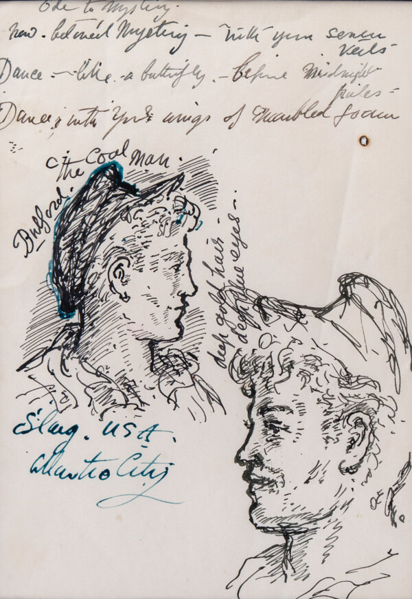 TENNANT Stephen (1906-1987) - 'The Coal Man, Bulford'.