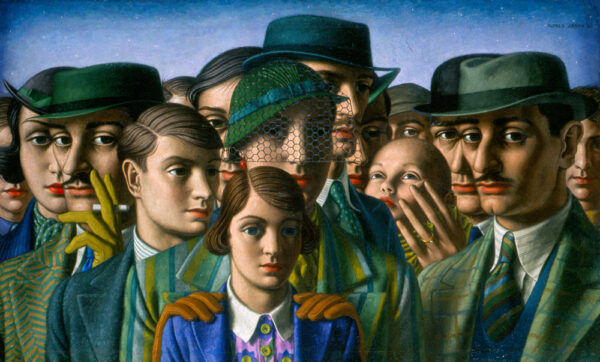 JANES Alfred (1911-1999) - A loan exhibition.