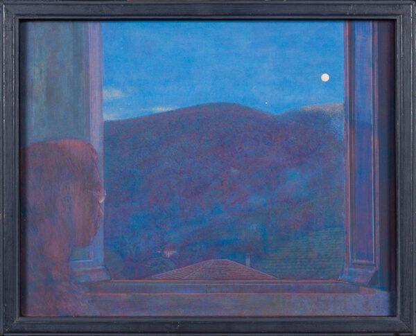 TINDLE David R.A. (b.1932) - 'Ecco, 1998', Tuscany.
