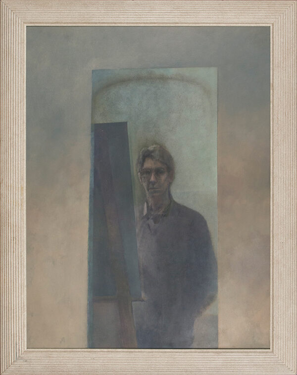 TINDLE David R.A. (b.1932) - Self Portrait.