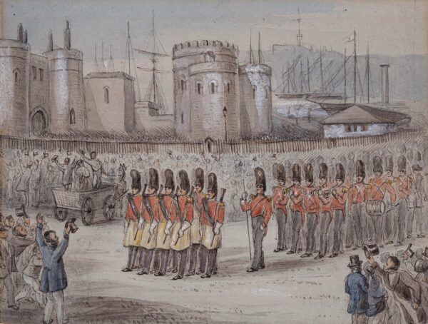 TIPPING Major Alfred (fl.1850s) - 3rd Battalion Grenadier Guards.