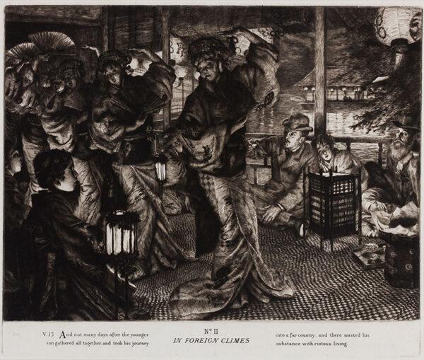 TISSOT James Joseph (1836-1902) -  'The Prodigal Son of Modern Life According to St Luke' (Wentworth 57-61.