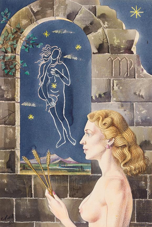 TODD Cecil (1912-1986) - 'Virgo'.