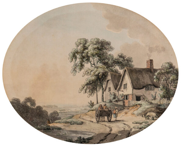 TOMKINS Charles (1757-1823) - The Crown Inn.