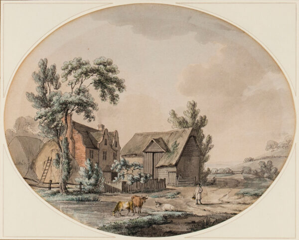 TOMKINS Charles (1757-1823) - A Farm.