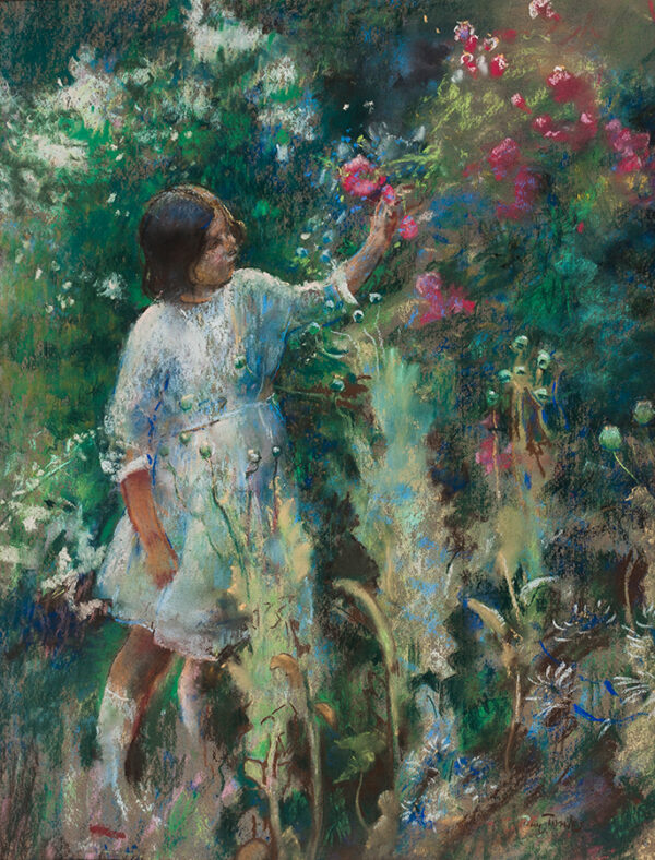 TONKS Professor Henry N.E.A.C. (1862-1937) - 'In the Garden'.