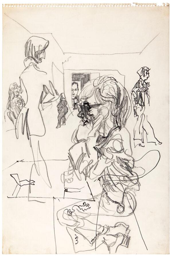 Feliks TOPOLSKI R.A. (1907-1989) - Eyewitness Drawings 1955-1975.