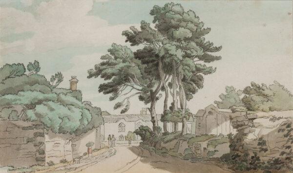 TOWNE Francis (1739-1816) - Mrs Culme's Cottage, Tothill, Devon.