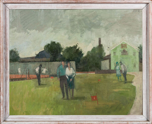 TOYNBEE Lawrence (1922-2002) - 'Pitch and Put'.