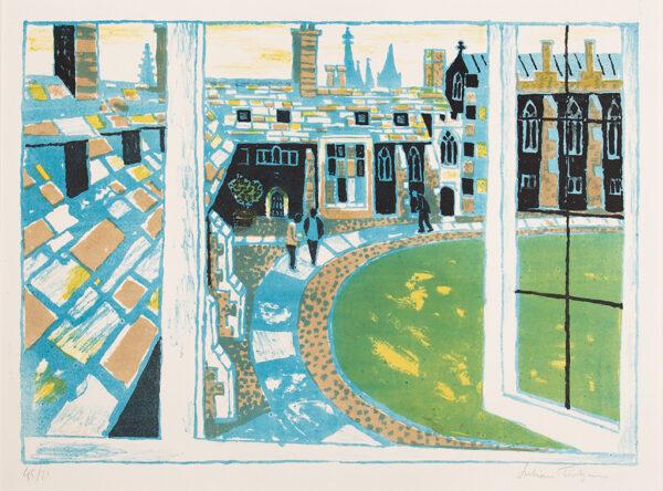 TREVELYAN Julian R.A. (1910-1988) - 'Corpus Christi' from the 'Cambridge Suite' (1959-1962).