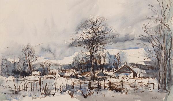 TRIVICK Henry (1908-1982) - 'Near Quainton', Buckinghamshire.