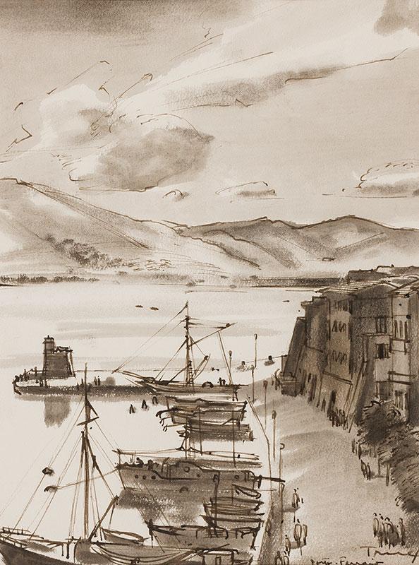 TRUEX Van (1904-1979) - 'Portoferraio, Elba'.