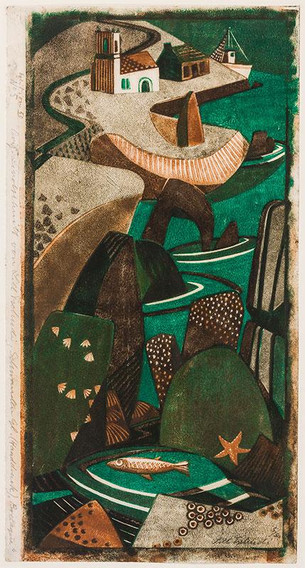TSCHUDI Lill (1911-2004) - 'In Hafen'.