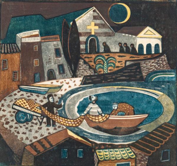 TSCHUDI Lill (1911-2004) - 'Eclipse of the sun'.