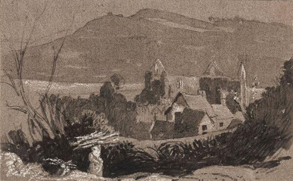 TUDOR Thomas (1785-1885) - Tintern Abbey.