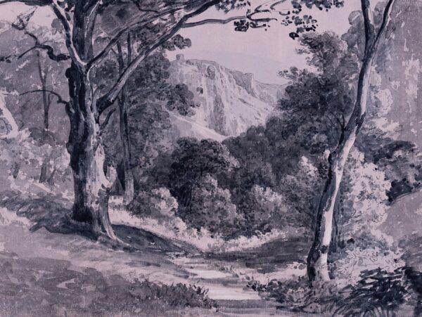 TUDOR Thomas (1785-1855) - Clifton from Leigh Woods.