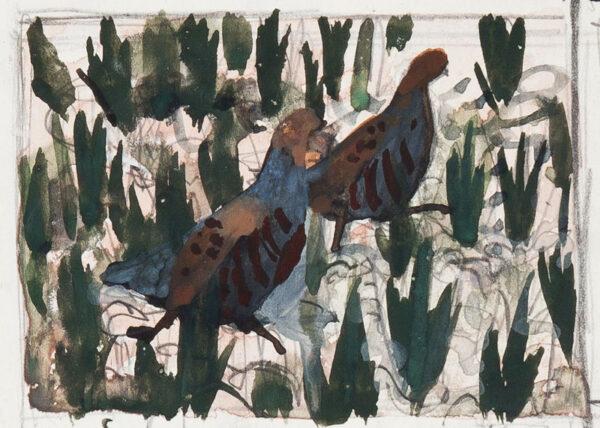 TUNNICLIFFE Charles Frederick O.B.E. R.A. R.E. (1901-1979) - Grey Partridge.
