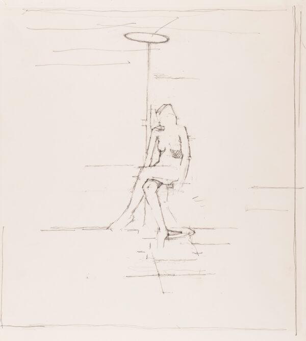 UGLOW Euan (1932-2000) - Seated Nude.