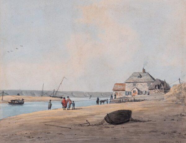 UPHAM John William (1772-1828 ) - 'Portland Ferry'.