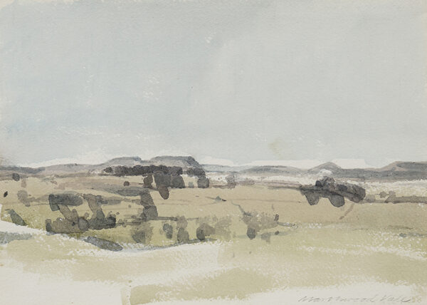 UPTON Michael (1938-2002) - 'Marshwood Vale'.