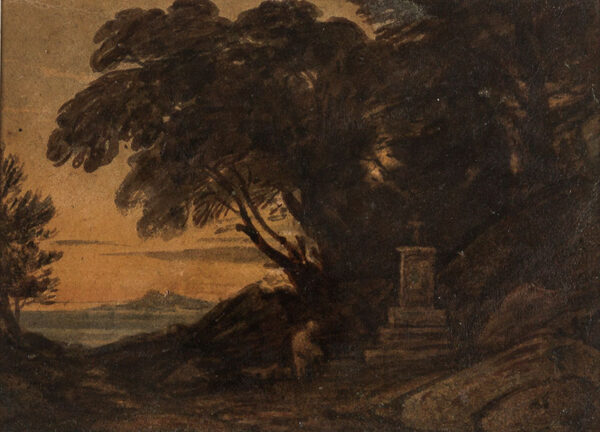 VARLEY John O.W.S. (1778-1842) - 'The Cenotaph'.