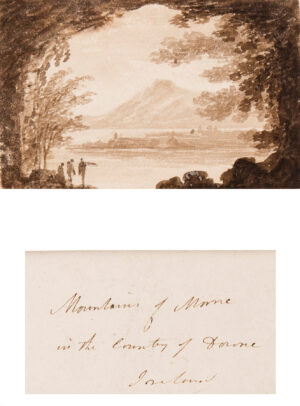 VARLEY John O.W.S. (1778-1842) - 'Mountains of Morne / in the County of Downe / Ireland'.