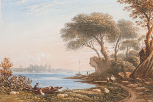 VARLEY John O.W.S. (1778-1842) - Conway Castle.