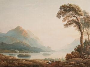 VARLEY John O.W.S. (1778-1842) - Lakeland capriccio.