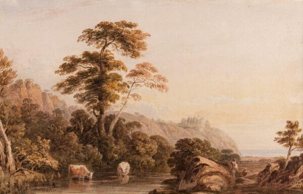 VARLEY John O.W.S. (1778-1842) - Capriccio.
