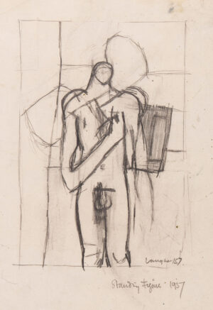 VAUGHAN Keith (1912-1977) - 'Standing Figure'.